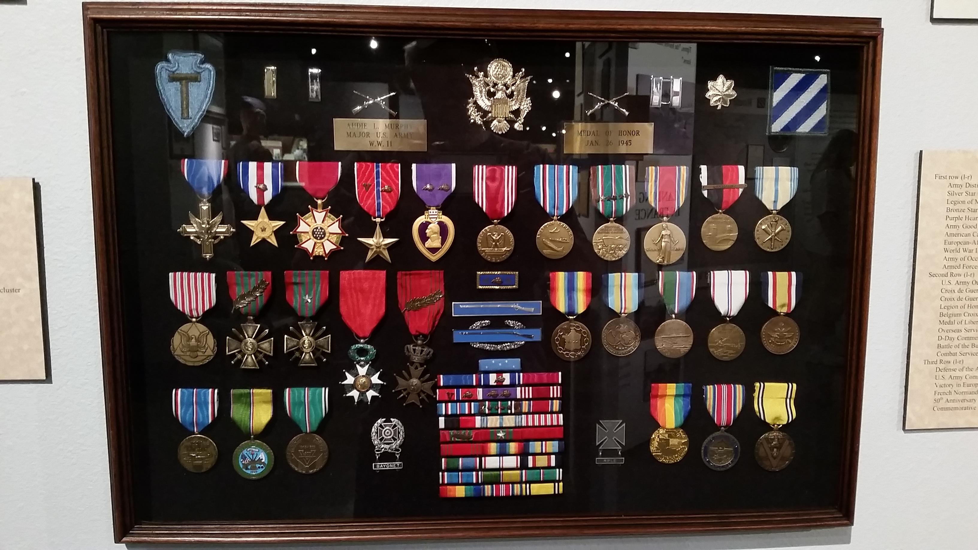 Audie Murphy Medals