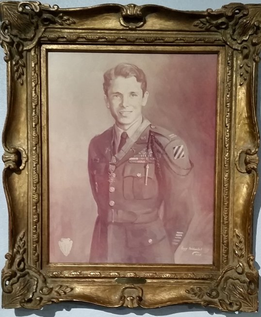 Audie Murphy Portrait 2