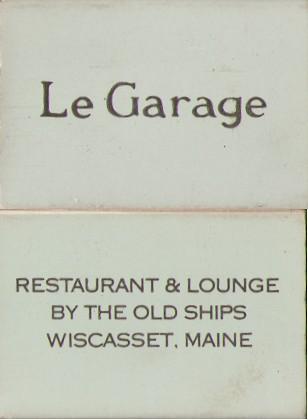 Le Garage Wiscasset ME