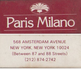 Paris Milano NYC