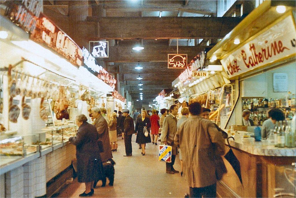 Europe Trip - Jun 1971 - Toulouse Market