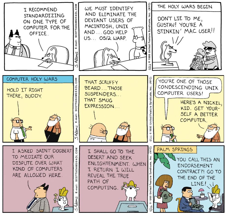 Dilbert - Computer Wars